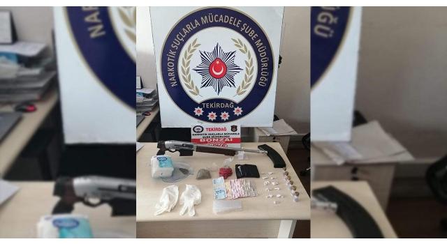 Tekirdağ'da uyuşturucu operasyonu: 16 gözaltı