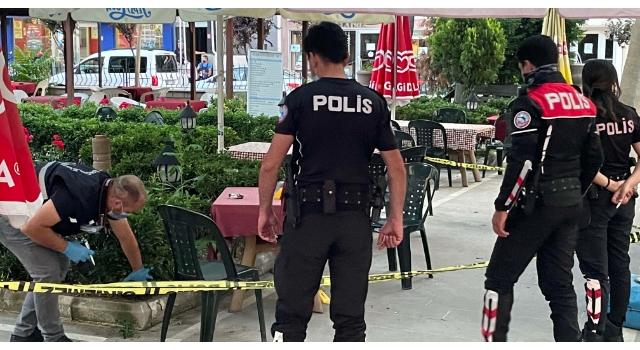Çocuk parkında panik ve korku yaşatan silahlı saldırı: 1 yaralı