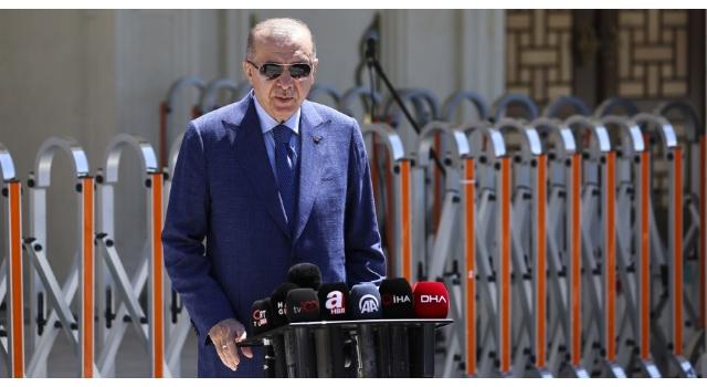 """Cumhurbaşkanı Erdoğan: """"Türkiye, NATO ülkeleri arasında ilk 5'te yerini alan güçlü bir ülke"""""""