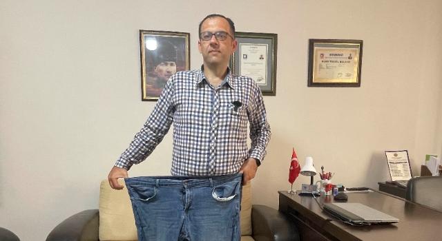 Küçük kızı için 9 ayda 71 kilo verdi