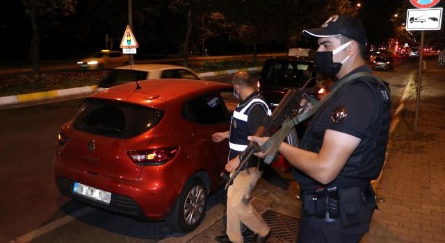 Tekirdağ'da, bin polisin görev aldığı 'kentte huzur' uygulaması: 43 gözaltı