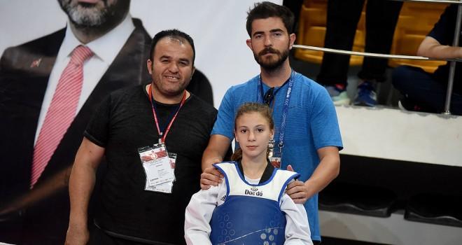 Malkara'lı Taekwondocu 6. Oldu