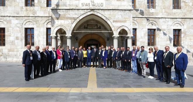 TGF Başkanlar Konseyi Sivas'ta Yapıldı