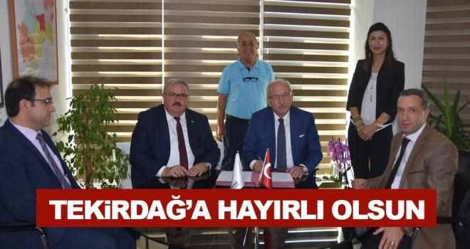 Türkiye Süt Üreticileri Birliği İle İşbirliği Protokolü İmzalandı