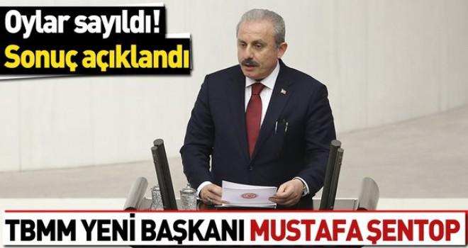 Son dakika.. AK Parti Tekirdağ Milletvekili Mustafa Şentop TBMM Başkanı seçildi