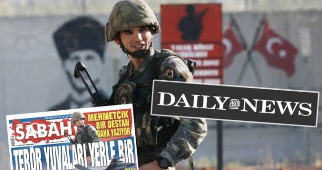 Tekirdağlı Mehmetçik Amerikan basınında