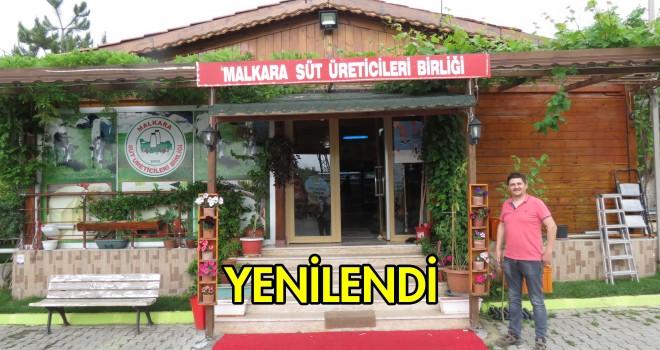 Malkara Süt Üreticileri Birliği Çavuşköy Satış Reyonu Yenilendi