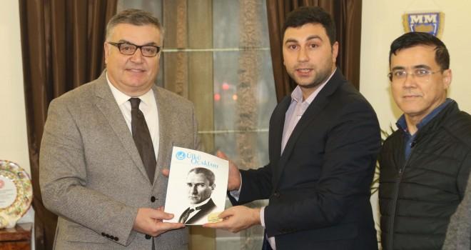 Ülkü Ocakları'ndan Kesimoğlu'na Ziyaret