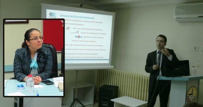 KOSGEB Destek Programları Tanıtıldı