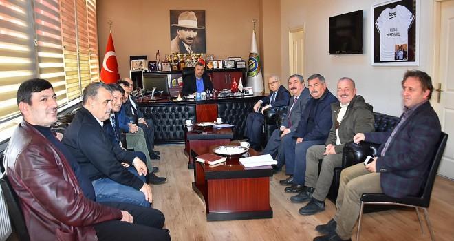 TESKİ Genel Müdürü'nden Başkan Yurdakul'a Ziyaret
