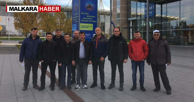 Tekirdağ DSYB, Almanya'ya Fuar Gezisi Düzenledi