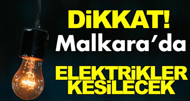 Dikkat! Malkara'da Elektrikler Kesilecek...