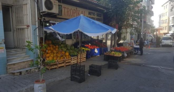 Süleymanpaşa Belediye Zabıtasından Kaldırım İşgallerine İdari Yaptırım