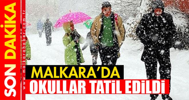 Son dakika... Malkara'da Okullara Kar Tatili!