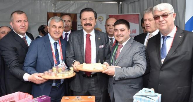 TOBB Başkan'ından Malkara Peynirine İlgi