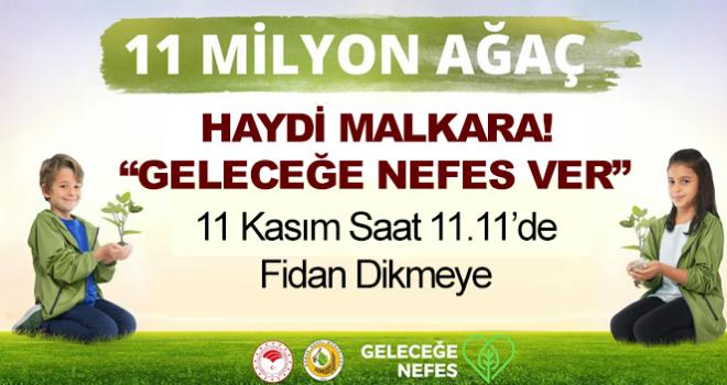 Malkara'da 4 Bin 500 Adet Fidan Dikilecek!