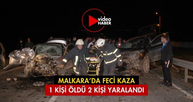 Malkara'da Feci Kaza; 1 Kişi Öldü
