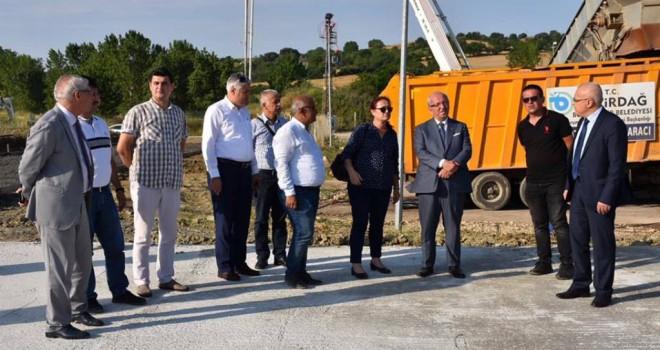 Başkanlar Malkara'da Proje ve Yatırımları İnceledi