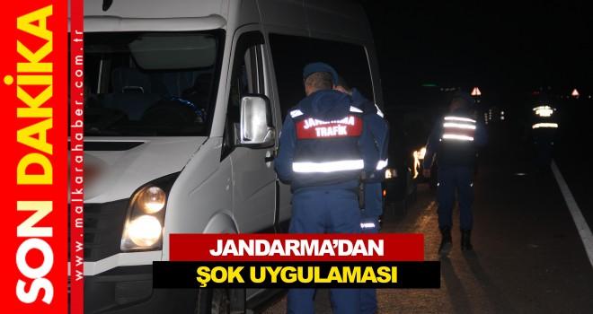 Jandarma'dan Şok Uygulama