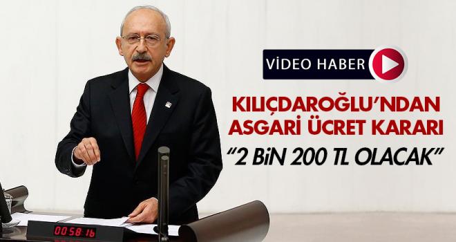 CHP'li belediyelerde asgari ücret 2 Bin 200 TL olacak!