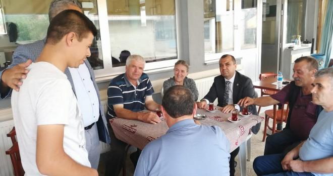 Milletvekili Aygun'den Üreticilere Ziyaret