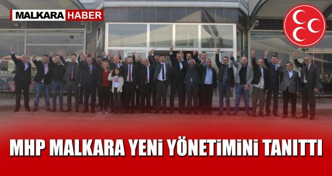 MHP Malkara Teşkilatı Yeni Yönetimini Tanıttı