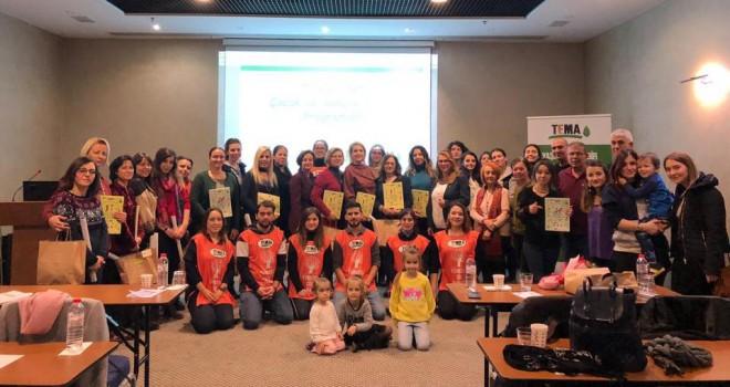 Edirne'de TEMA Vakfı Gönüllüsü Öğretmenler Doğa Eğitimleri İçin Buluştu