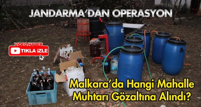 Jandarma'dan Kaçak İçki Operasyonu