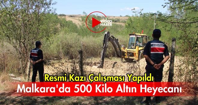 Malkara'da 500 Kilo Altın Heyecanı