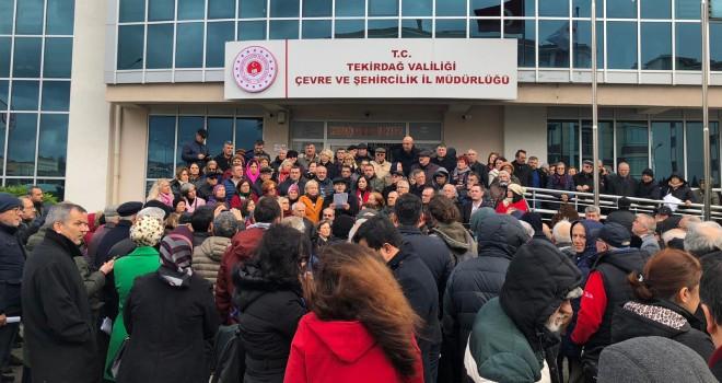 Başkan Ayaz; Kanal İstanbul Projesi Trakya'ya Saldırıdır!