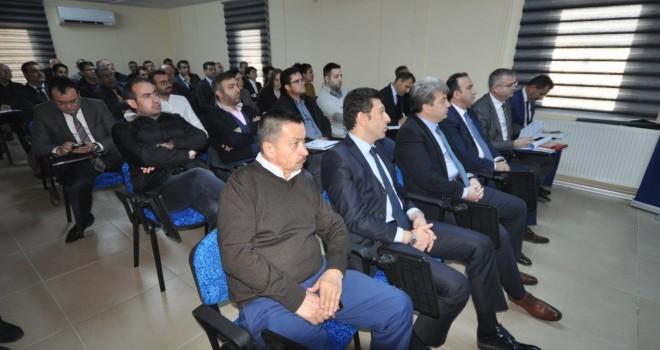 Eğitim Sanayi İş Birliği Toplantısı Yapıldı