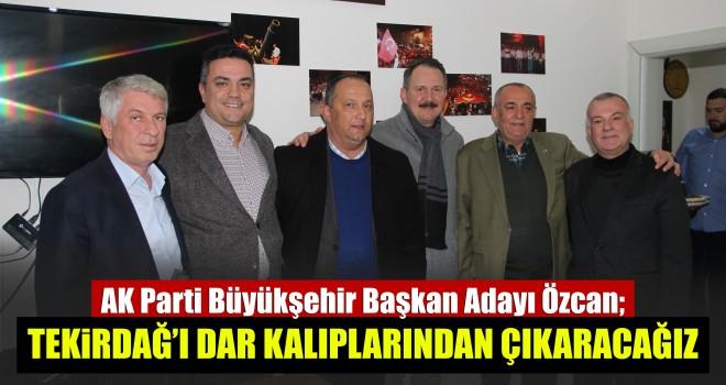 AK Parti Tekirdağ Belediye Başkan Adayı Özcan Malkara'da