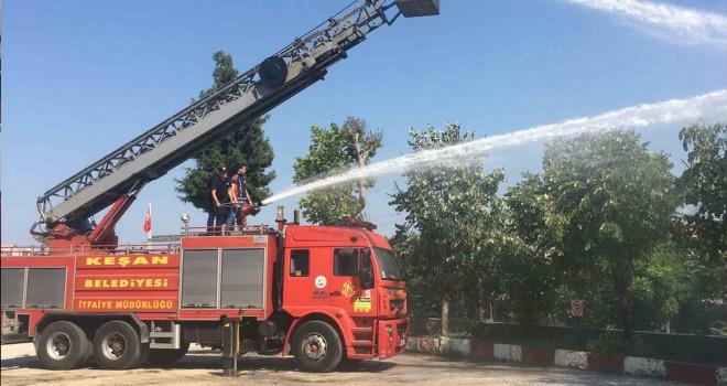 İtfaiye Temmuz Ayı'nda 32 yangına müdahale etti