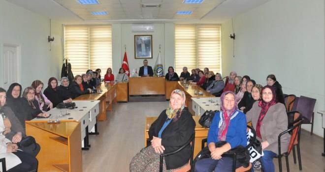 Kadınlar'dan Başkan Yurdakul'a Ziyaret