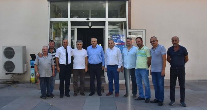 İYİ Parti Milletvekili Kaplan'dan Malkara'ya Ziyaret