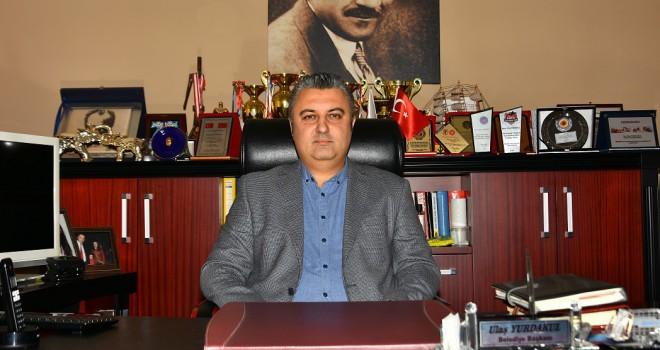Başkan Yurdakul 29 Ekim Cumhuriyet Bayramını Kutladı