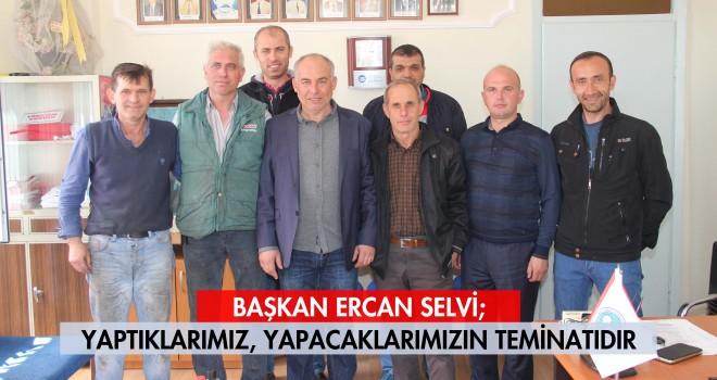 Ercan Selvi Adaylığını Açıkladı