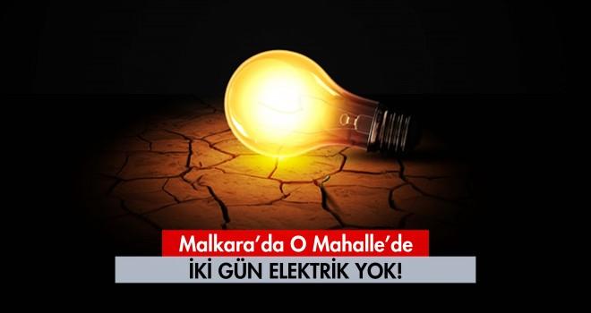 İki Gün Elektrikler Yok!
