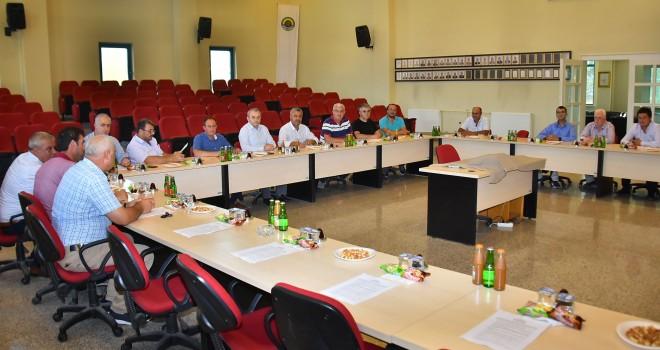 Malkara Ticaret Borsası Aylık Olağan Meclis Toplantısı Yapıldı