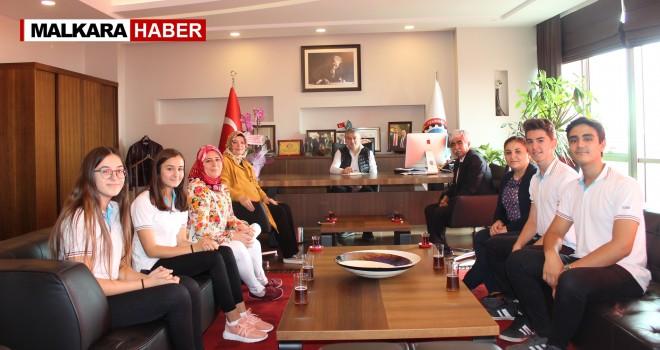 TOBB Mesleki ve Teknik Anadolu Lisesi'nden Başkan Günay'a Ziyaret