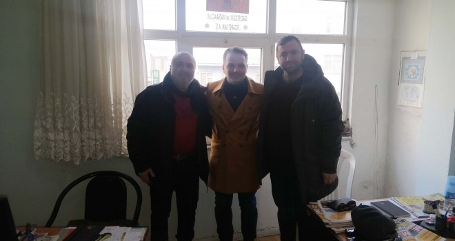 Genç İş Adamı Yasin Özsoy'dan Ziyaret