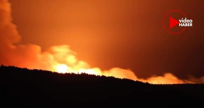 Tarihi Gelibolu Yarımadası'nda Yangın!