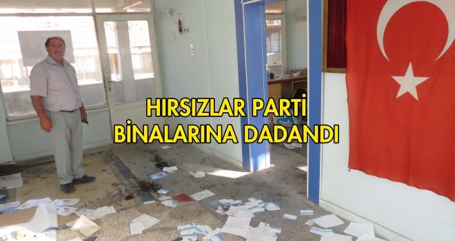 DSP Malkara Parti Bürosu Talan Edildi