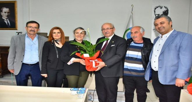 Başkan Yurdakul'dan Kadir Albayrak'a Hayırlı Olsun Ziyareti