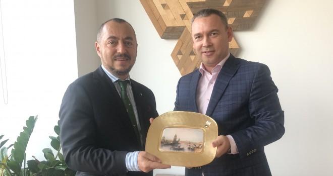 Macaristan Fahri Konsolosu Şahbaz'dan Başkonsolos Keller László'ya Ziyaret