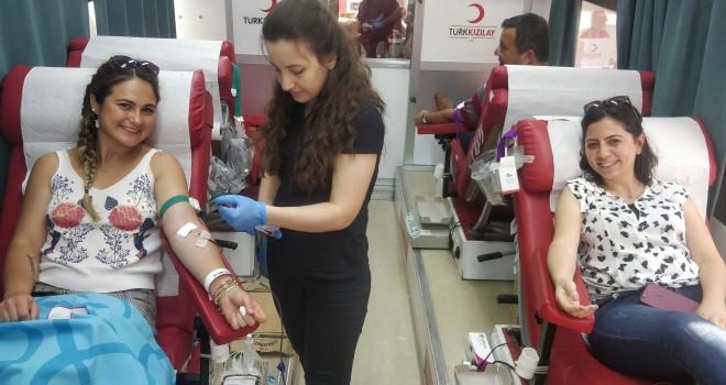 75 Ünite Kan Bağışı Yapıldı