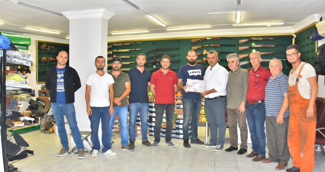 Başkan Yurdakul'dan Avcılara Ziyaret