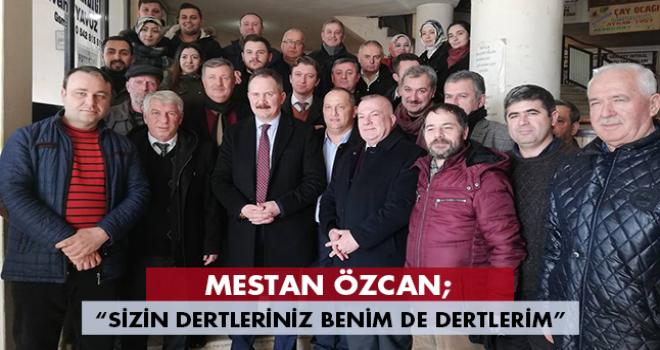 AK Parti Tekirdağ Adayı Mestan Özcan Malkara'da