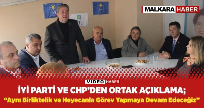 CHP'den Seçilen Belediye Meclis Üyeleri Yuvaları Olan İYİ Partiye Döndü