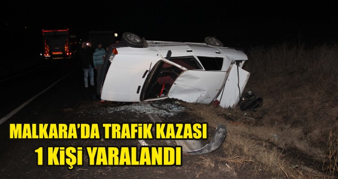 Takla Atan Otomobil'den Yaralı Kurtuldu